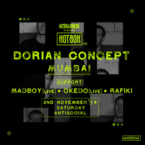 Krunk Presents: Hotbox 10 ft Dorian Concept, Mumbai