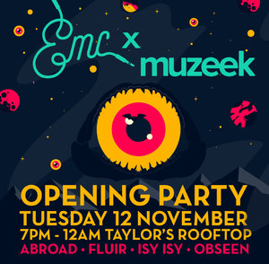 Muzeek x EMC Official Opening Party