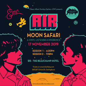 CAS Sydney x EMC presents: Air – Moon Safari photo