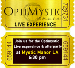 Optimystic Live Experience - NOV 23 2019