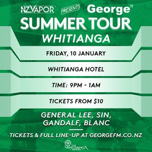 NZVAPOR Presents George FM Summer Tour: Whitianga photo