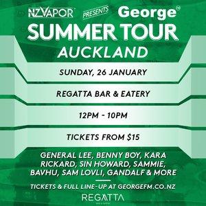 NZVAPOR Presents George FM Summer Tour: Auckland