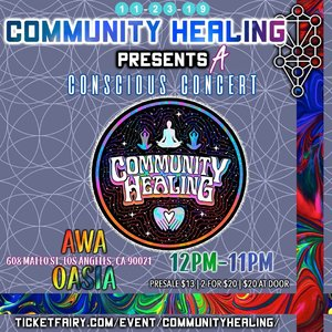 COMMUNITY HEALING CONSCIOUS CONCERT photo