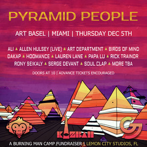 Pyramid People | Art Basel | Miami