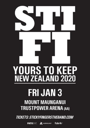 Sticky Fingers - Mt Maunganui (All Ages)