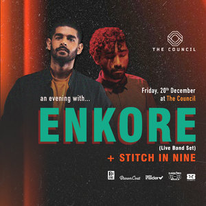The Council Presents: An evening with Enkore & Stitch In Nine photo