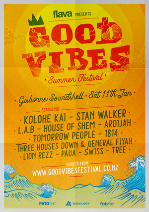 Good Vibes Summer Festival - Gisborne