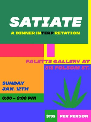 Satiate. A Dinner InTERPretation photo