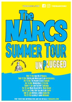 The Narcs Summer Tour Taupo photo