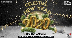 Celestial NYE Presents Techno Takeover at The LaLiT Mumbai photo