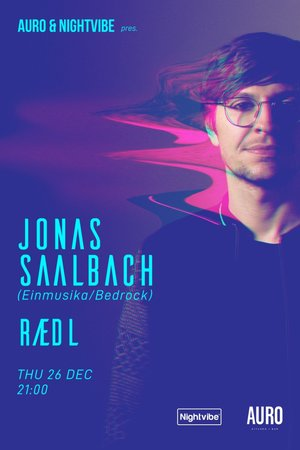 Nightvibe presents Jonas Saalbach (Einmusika)