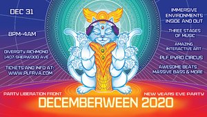 PLF Presents: Decemberween 2020 - A New Year's Eve Costume Ball